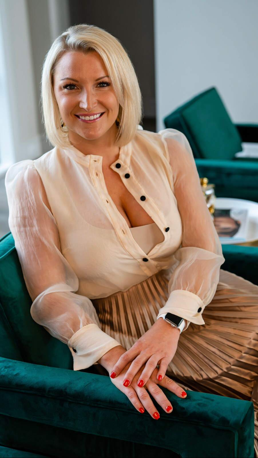 Kelsey Davis assists clients at Millennial Design Build to establish their dream home by working with new home builders in DFW and Dallas Interior Designers.