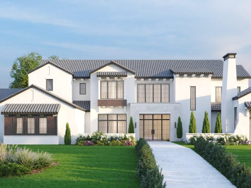 Transitional Style Homes Frisco TX by Millennial Design + Build who are luxury home builders