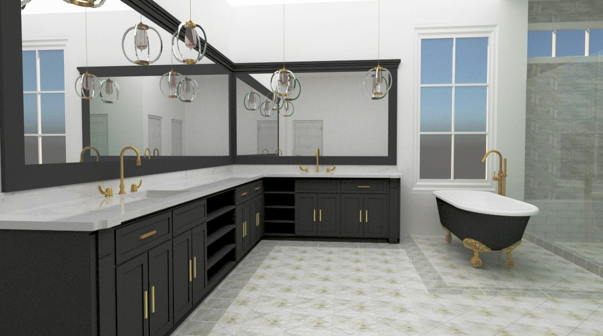New Home Builders Midwick#1 1 - Millennial Design + Build, Custom Home Builders in Dallas Texas, modern style homes, Property Evaluator, Interior Designers, using BIM Technology and Home 3D Model.