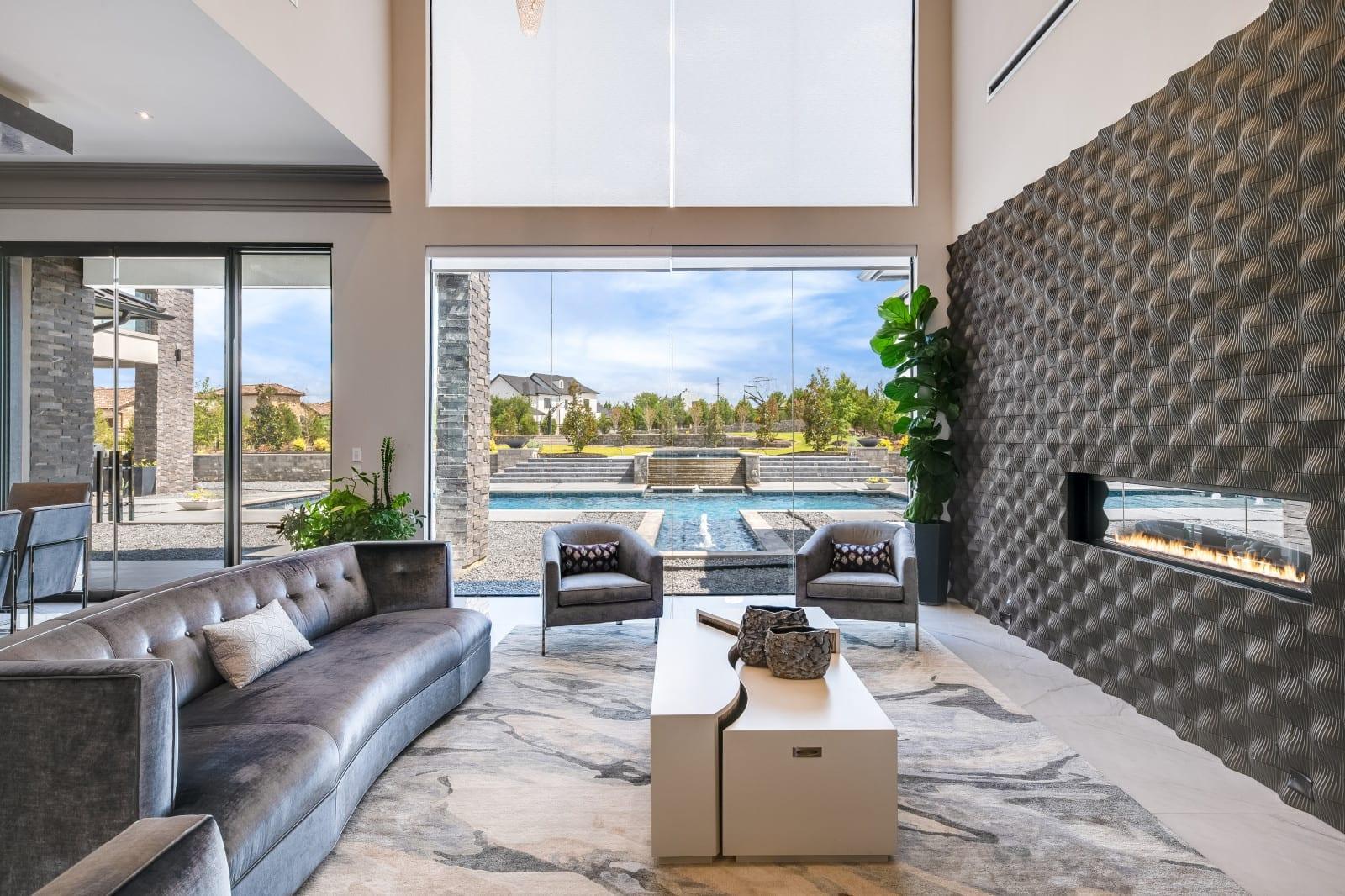 Custom Home Build and Interior Design # 2 - Millennial Design + Build, Custom Home Builders in Dallas Texas, modern style homes, Property Evaluator, Interior Designers, using BIM Technology and Home 3D Model.