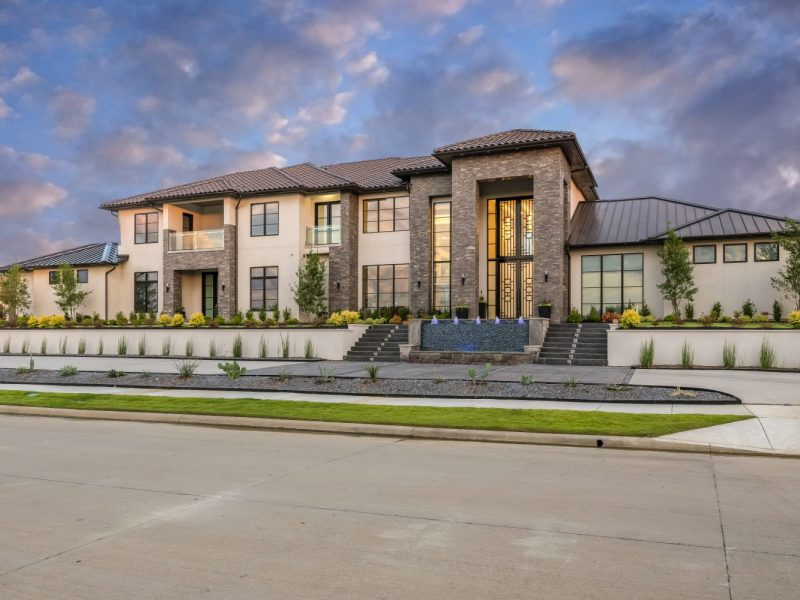 Custom Modern Home Build and Interior Design from Millennial Design + Build, Frisco Luxury Home Builders in Texas
