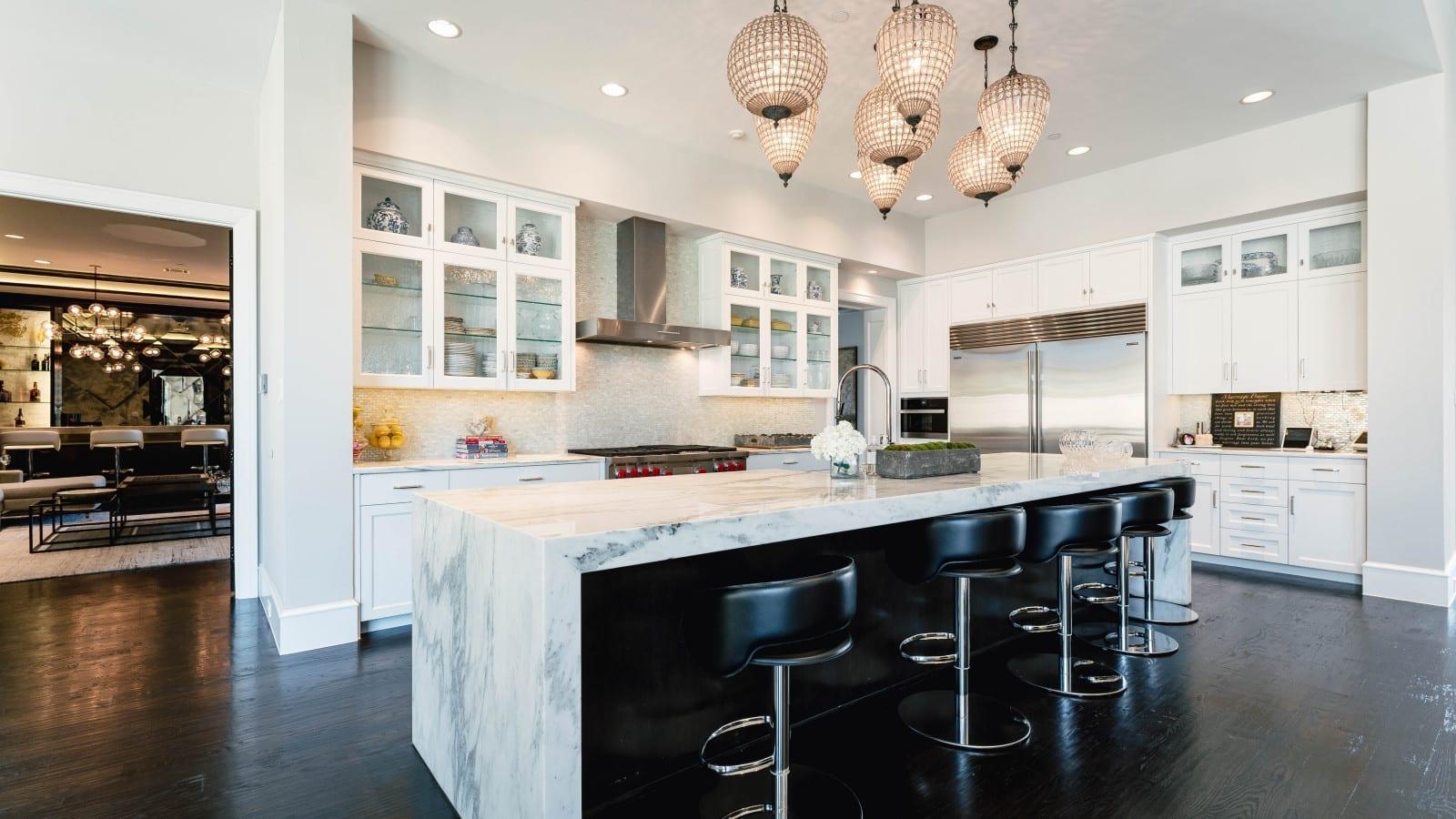 transitional modern style home design 11 - kitchen interior design Millennial Design + Build