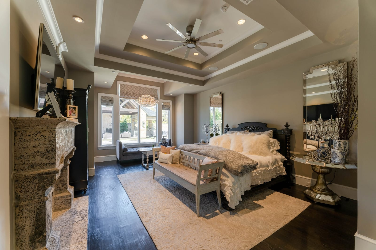 transitional modern style home designed by home builders in Dallas Texas 15 - Millennial Design + Build