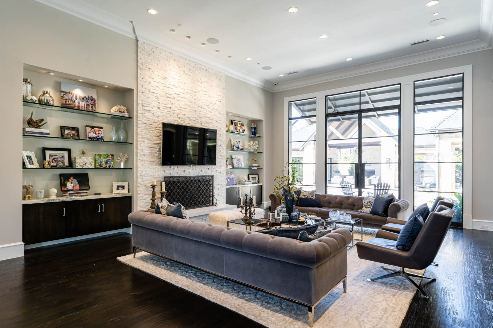 transitional modern style home designed by home builders in Dallas Texas 3 - Millennial Design + Build
