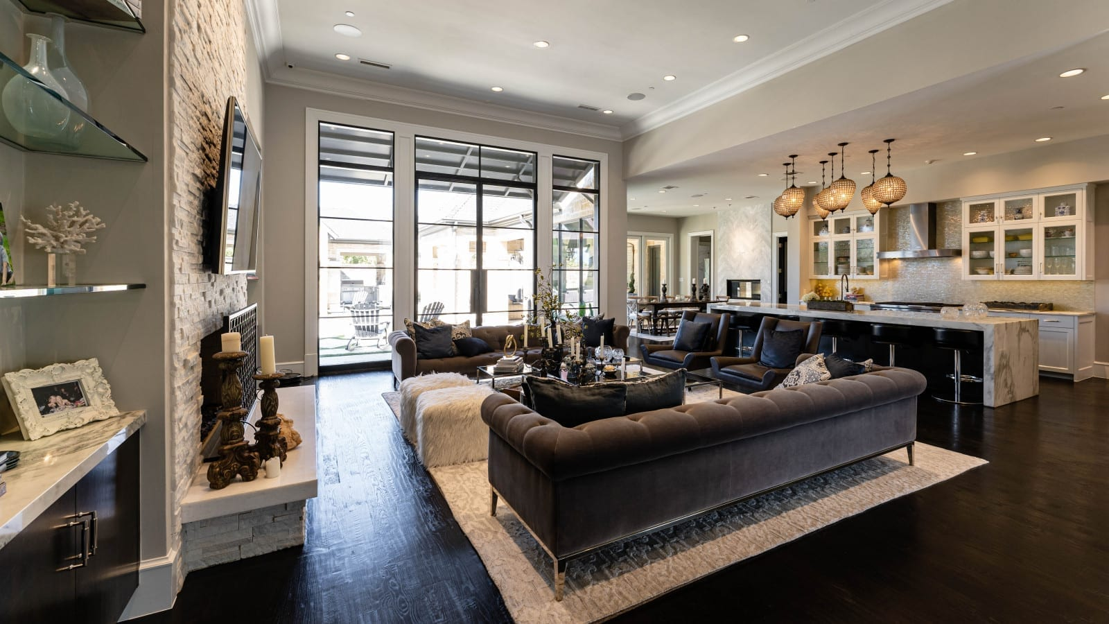 transitional modern style home designed by home builders in Dallas Texas 7 - Millennial Design + Build