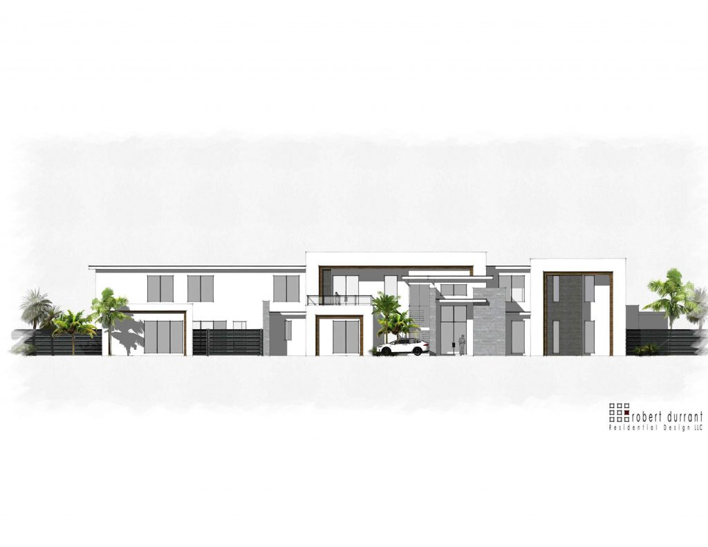 modern luxury home design from millennial design and build with transitional architecture